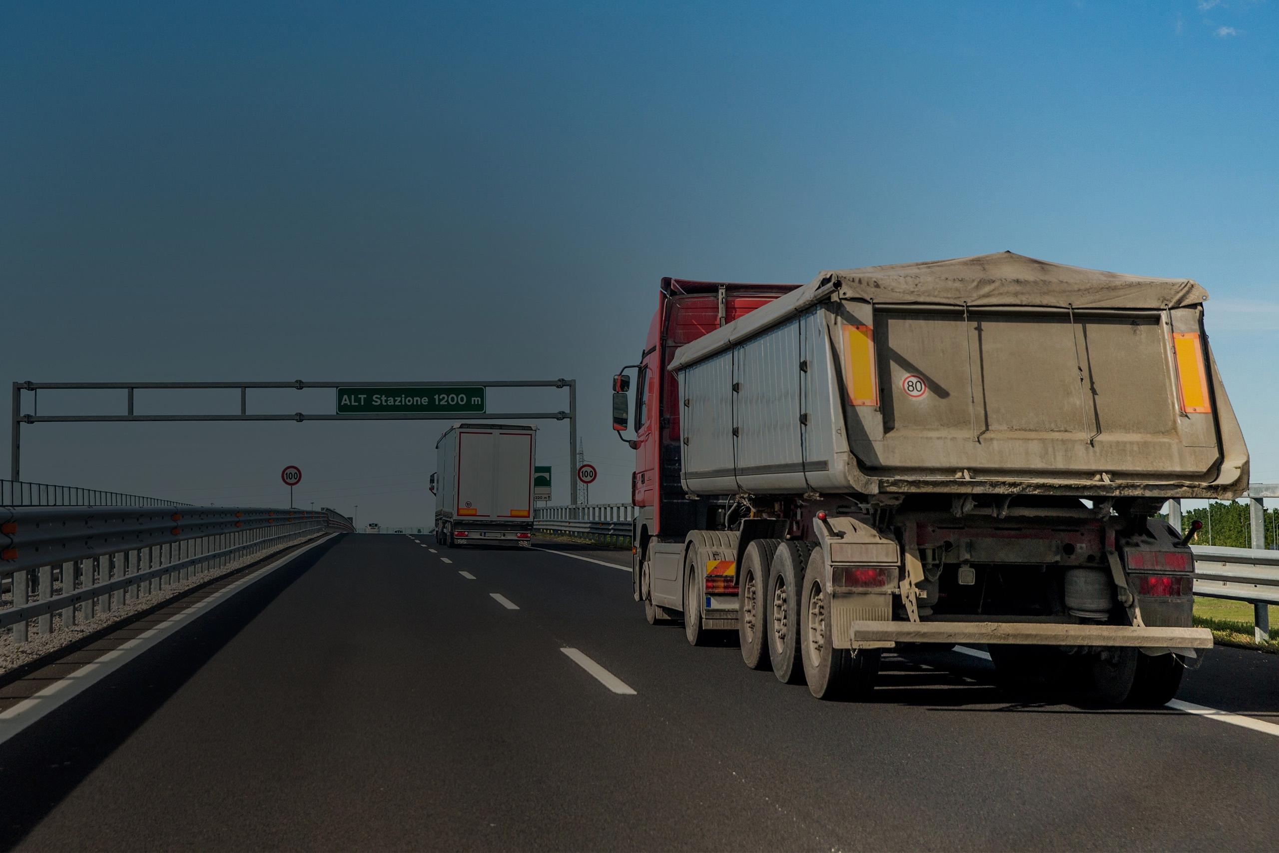 Construction Truck Banner