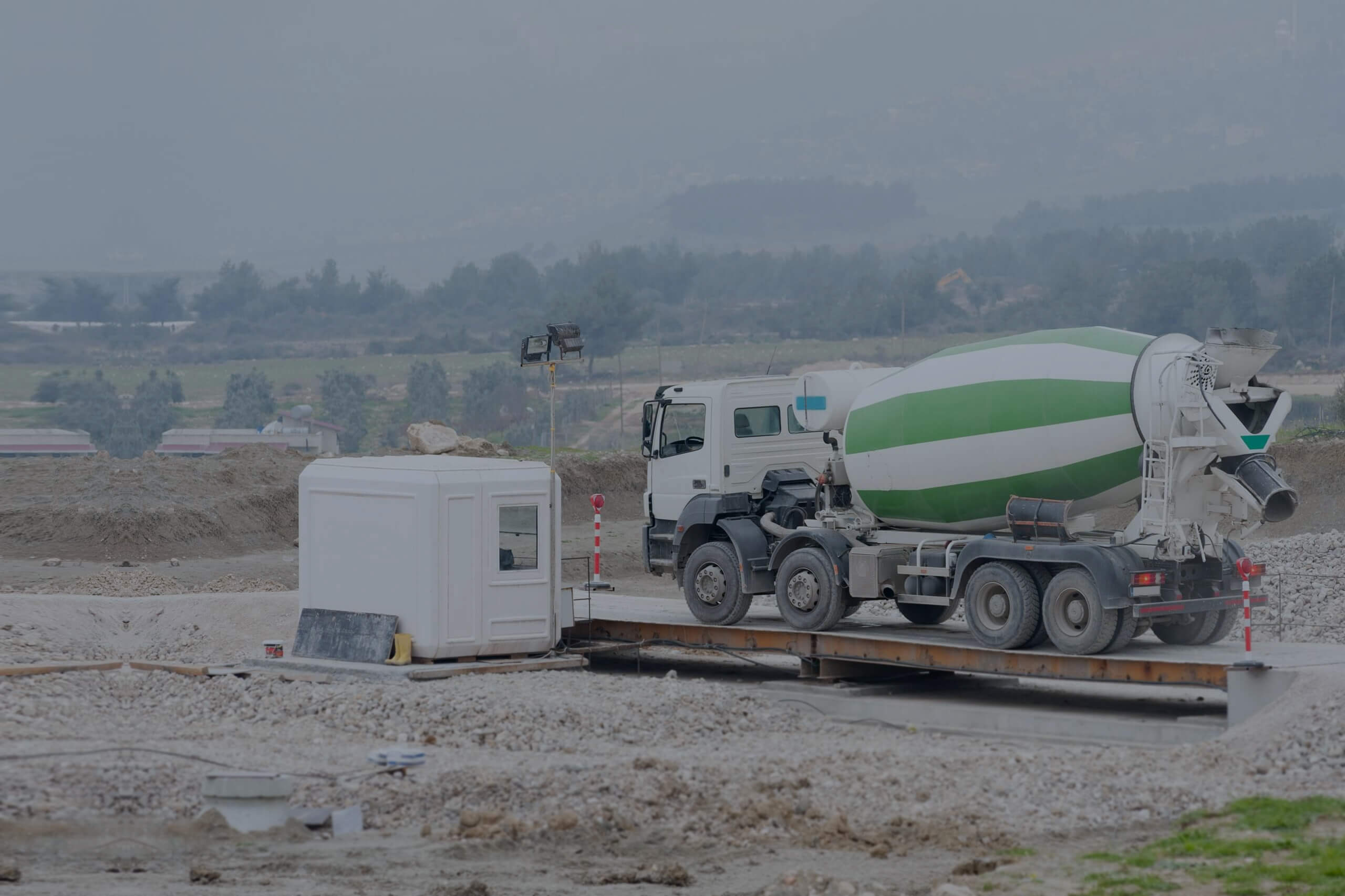automated weighbridge system banner